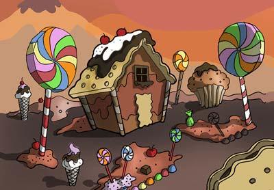 chocolate town